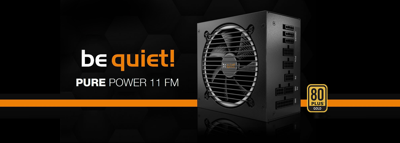 Bequiet alimentation Pure Power 11 FM