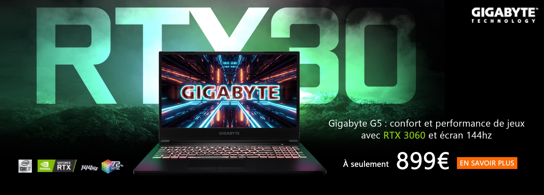Gigabyte NB G5 series promotion
